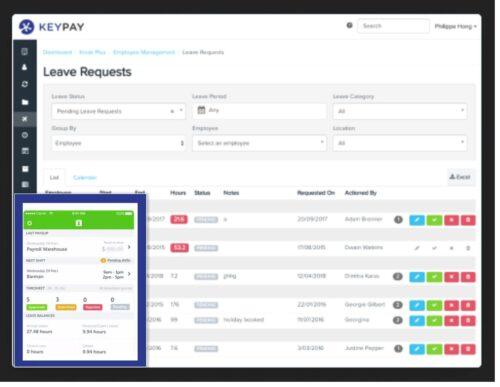 Keypay payroll software user